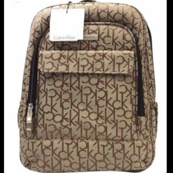 Calvin Klein Handbags - Calvin Klein signature laptop/travel backpack